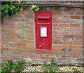 SU7499 : Post Office George VI wall box, Crowell by David Hawgood