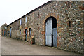 NY3356 : An old barn at Moorhouse by Rose and Trev Clough