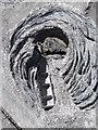 L9602 : Memorial stone - detail by Gordon Hatton