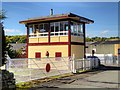 SD8021 : East Lancashire Railway: Townsend Fold Level Crossing and Signal Control Box by David Dixon