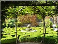 SP0327 : Sudeley Castle - Knot Garden - looking westwards by Rob Farrow