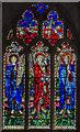 SO5634 : East Window, St Cuthbert's church, Holme Lacy by Julian P Guffogg