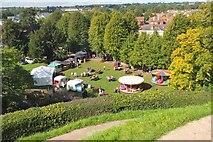 TR1457 : Food fair, Canterbury by Jim Barton