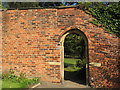 SE2634 : Arch in Gotts Park rose garden by Stephen Craven