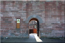 NS6859 : Entrance to Bothwell Castle by Billy McCrorie