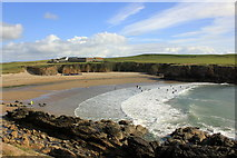 SH3370 : Porth Trecastell (Cable Bay) by Jeff Buck