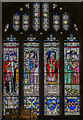 ST7564 : John de Villula window, Bath Abbey by Julian P Guffogg