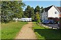 SU8467 : Path through Jennett's Park by Alan Hunt