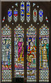 ST7564 : King Edgar window, Bath Abbey by Julian P Guffogg