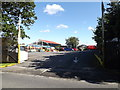 TQ5792 : Entrance to Tomlins Garden Centre by Geographer