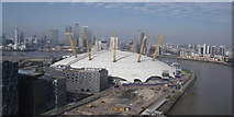 TQ3980 : O2 Arena from the Emirates Air Line by Pete Rigby