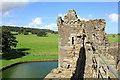 SH6076 : Curtain Wall Tower at Beaumaris Castle by Jeff Buck