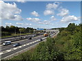 TQ5791 : M25 London Orbital Motorway by Adrian Cable