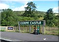 SY9682 : Corfe Castle station by Marathon