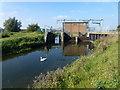 TL5476 : Pumping station at Lode End Bridge, Barway by Richard Humphrey