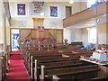 SP9212 : The Interior of New Mill Baptist Church, Tring by Chris Reynolds
