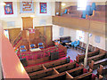 SP9212 : View from the Balcony in New Mill Baptist Church, Tring by Chris Reynolds