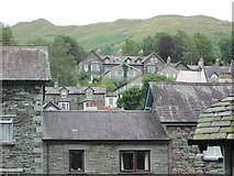 NY3704 : Ambleside – Wansfell from Church Road by Peter S