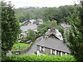 NY3205 : Chapel Stile – looking down on the village from the church by Peter S