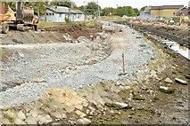 J3674 : Connswater path works, Belfast - October 2015(2) by Albert Bridge
