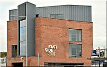 J3674 : The East Side Visitor Centre, Belfast (October 2015) by Albert Bridge