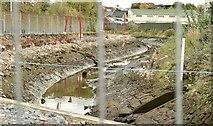 J3674 : Connswater path works, Belfast - October 2015(4) by Albert Bridge