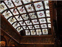 TQ3180 : Stained glass ceiling, Two Temple Place by David Hawgood