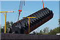 TA0833 : Archimedes Screw at Kingswood by Ian S