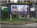 TQ6293 : Developers' for sale board by Geographer