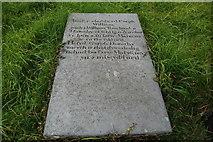 SH4239 : Carreg fedd drist - A sad gravestone by Alan Fryer
