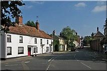 TL5646 : Linton High Street by John Sutton