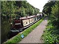 TQ0586 : Yeoman, narrowboat on Grand Union Canal by David Hawgood