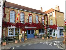 SU3987 : King Alfred's Bistro in Wantage by Steve Daniels