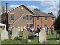 """SP9212 : Celebrating the """"New"""" Baptist Church Hall, New Mill (1) by Chris Reynolds"""