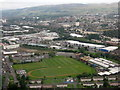 NS5070 : Clydebank Rugby Club and Whitecrook Primary School by M J Richardson