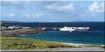 L9802 : The village bay, Inis Oirr by Gordon Hatton