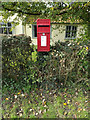 TM2056 : Mar-Fre Cottage Postbox by Adrian Cable