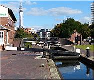 SP0686 : Farmer's Bridge Top Lock No 1 in Birmingham by Mat Fascione
