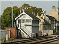 SK5879 : Worksop East Signal Box by Alan Murray-Rust