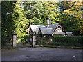 NY1476 : Lodge and gates for Castlemilk by JThomas