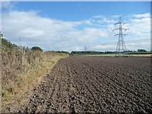 SD4432 : Public footpath, south side of the railway by Christine Johnstone