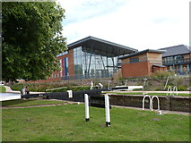 SO8453 : Residential developments at Diglis Basin, Worcester by Jeff Gogarty