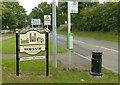 SK5778 : Worksop town entrance sign by Alan Murray-Rust