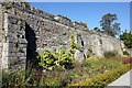 SJ1258 : The Walls of Ruthin Castle by Jeff Buck