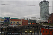 SP0786 : Reflections on New Street Station by Stephen McKay