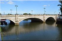 TL1998 : A15 Bridge, River Nene by N Chadwick