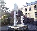 SN1812 : Tavernspite - 2 old village water pumps by welshbabe