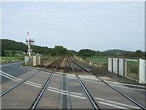 SD4774 : Railway towards Barrow-in-Furness by JThomas