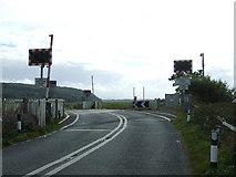 SD4774 : Silverdale Level Crossing  by JThomas