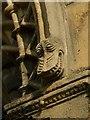 SK5878 : Corbel stop, west door, Worksop Priory by Alan Murray-Rust